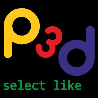 Poza logo P3D select like - p3d [1]